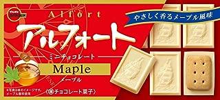 Bourbon Alfort mini chocolate cookies Maple flavor Japan snack Dagashi