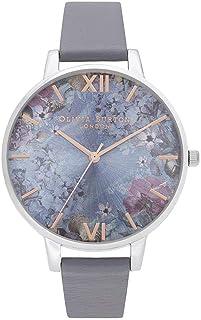 Olivia Burton Womens Quartz Watch, Analog Display and Leather Strap OB16US09
