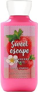 Bath and Body works sweet escape strawberry picnic shea & vitamin e body lotion 8 oz