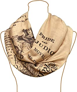 Pride and Prejudice by Jane Austen Shawl Scarf Wrap