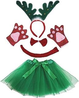 Petitebella 3D Headband Bowtie Tail Gloves Skirt Unisex Adult 5pc Costume