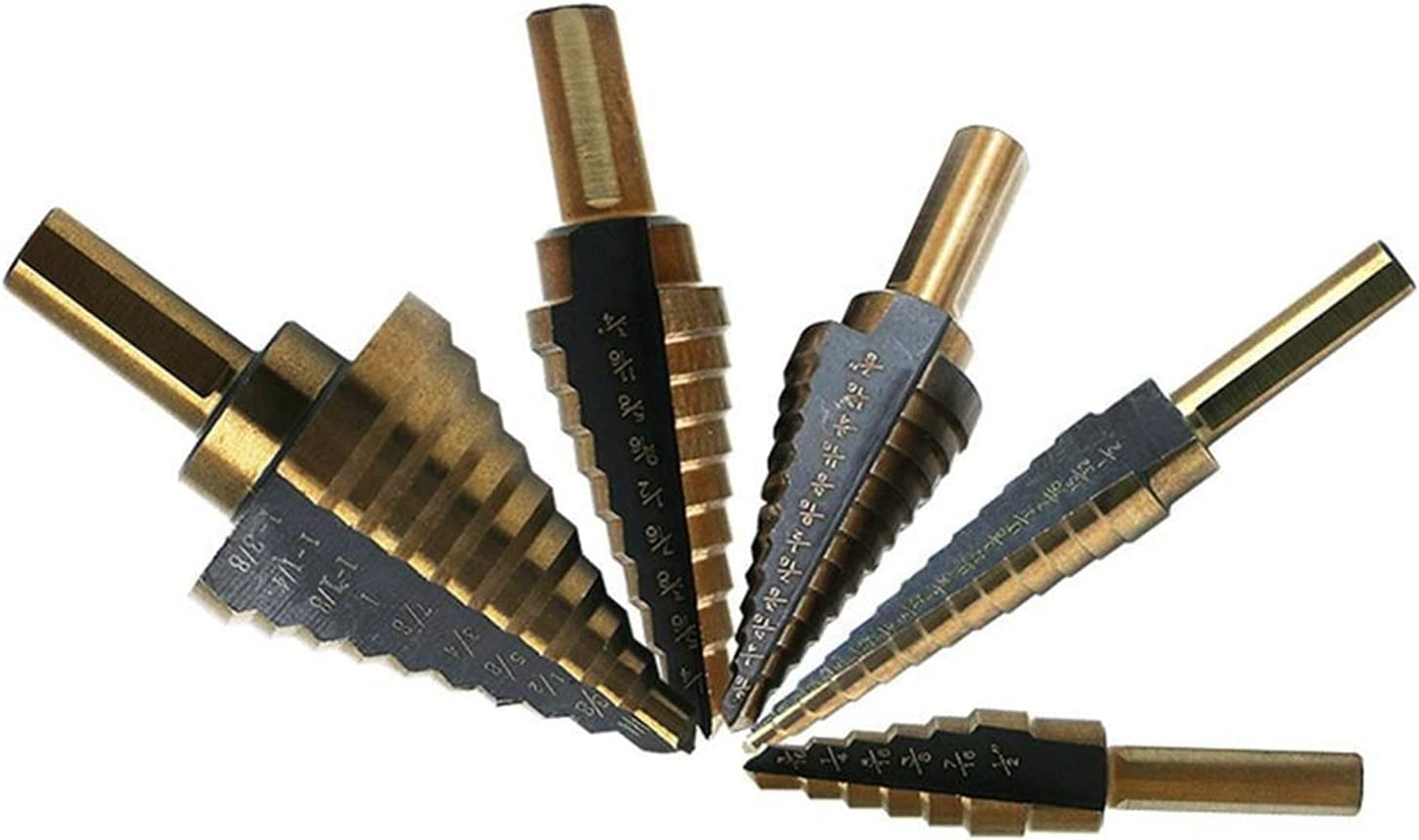 New products, world's highest quality popular! HSS Cobalt Multiple Hole 50 Sizes Ranking TOP15 Tools Set Step Drill Bit Alumi
