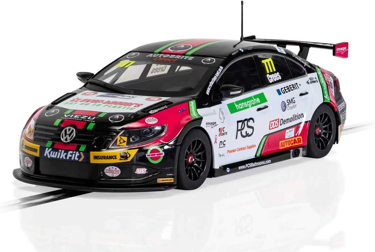 Scalextric Volkswagen CC Special price for a limited time Team Hard Slot 1:32 Race C4174 Car Manufacturer OFFicial shop