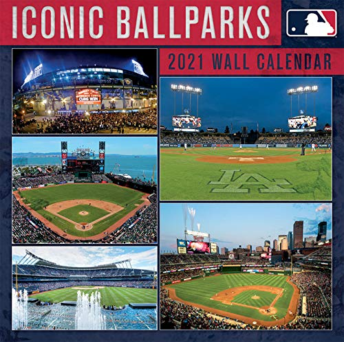 Mlb Iconic Ballparks 2021 Calendar