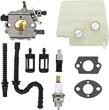 MOTOKU Carburetor Air Filter Fuel Oil Line Spark Plug Carb Kit for Stihl MS260 MS240 024 024AV hainsaw Wood Boss 024 AVS Saw Replaces Walbro WT-194 WT-194-1 Tillotson HU-136A HS-136A