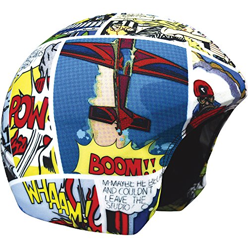 Coolcasc Multisport Helm Cover Comic Print