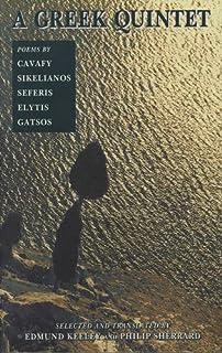 Greek Quintet: Poems by Cavafy, Sikelianos, Seferis, Elytis, Gatsos: No. 2