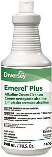 Diversey 94496138 Emerel Plus Cream Cleanser Odorless 32 oz Squeeze Bottle 12/Carton