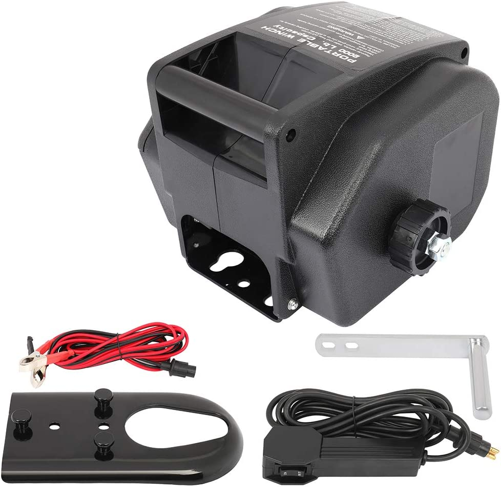 cciyu Electric Winch 12V 6000 lb ATV for San Diego Mall UTV Easy-to-use Towing Boa Winches