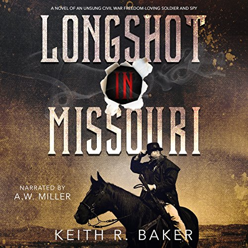 Longshot in Missouri audiobook cover art