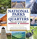 National Parks Commemorative Quarters Collector's Map 2010-2021 (includes both mints, plus the rare West Point quarter release!)
