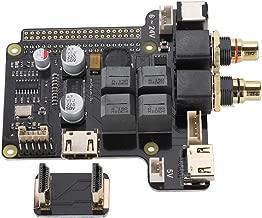 Fishlor Digital Amplifier, X5000 DIY Computer Kit HiFi Sound Card 60W HDMI 192KHz/24Bit Digital Amplifier for Raspberry Pi Electronic Parts Set Audio Amplifier Board
