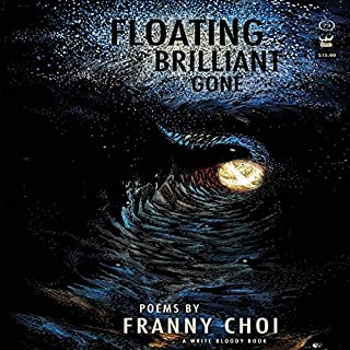 Floating, Brilliant, Gone audiobook cover art