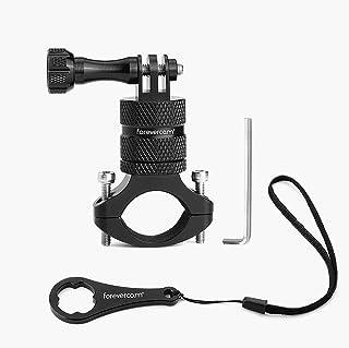 Mountain Bike Camera Handlebar,for All gopro Models/Action Cameras Mountain Bike Mount, Aluminium 360 Degree Rotation Upgr...