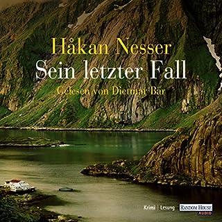 Sein letzter Fall (Kommissar Van Veeteren 10) Titelbild