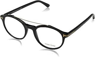 Clear Shiny Black Eyeglasses FT5455 001 50