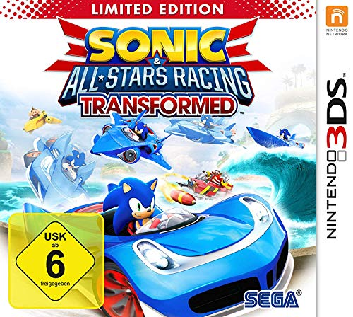 Sonic All-Stars Racing Transformed (3DS) [Importación Alemana]