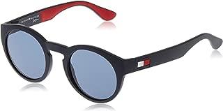 Tommy Hilfiger Men's TH 1555/S Sunglasses, Multicolour (BL REDWHT), 49 (TH 1555/S 8RU)