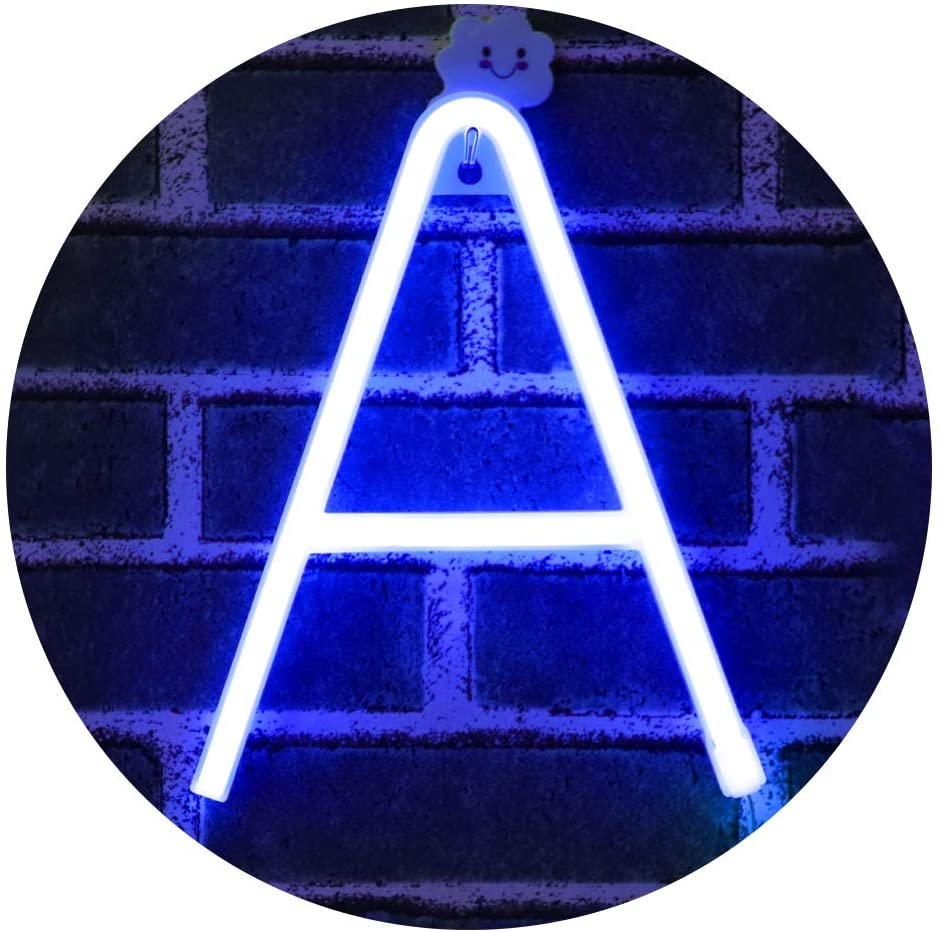 Light Up Letters Neon Signs blue Marquee Very popular Wall Letter Lights Dec Popular overseas