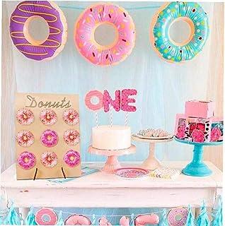 Mariage Esoar Pr/ésentoir Mural en Forme de Donut pour Bonbons Chariot Anniversaire Bonbons d/écoration dint/érieur