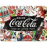 Nostalgic-Art 26227 Coca-Cola-Collage | Retro Schild | Wand