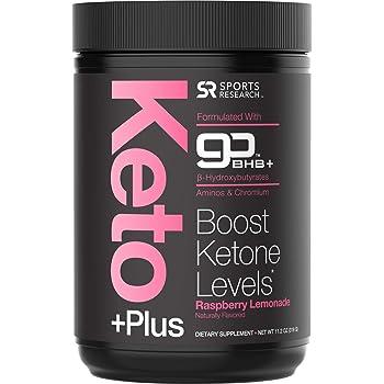 Keto Plus™ Exogenous Ketones (goBHB™) - 30 Servings | Formulated for Ketosis, Energy and Focus | Keto Certified, Vegan Friendly (Raspberry Lemonade)
