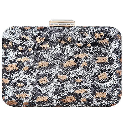 FawziyaE1597 - Handtasche, Elegant, Hochzeit, Abschlussball, Satin, Clutch, Tasche für Mädchen Damen