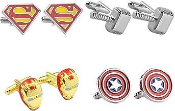 FLASH Cufflinks; DC Comics; Classic Logo; Rare Nerd Art Unique Cuff Links; Wedding Party; Groom; Father/'s Day; Free Gift Bag
