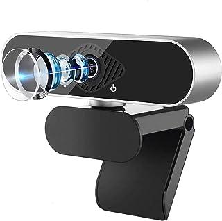 【2020業界最新版】web カメラ ウェブカメラ マイク内蔵 ビデオカメラ pc カメラ 小型ビデオカメラ HD1080P 30FPS 200万画像 usbカメラ オートフォーカス 自動光補正 在宅勤務 飲み会 リモート勤務 zoom ビデオ会議 ビデオ通信 オンライン授業 ゲーム実況 生放送 360°角度調整 Windows2000/WindowsXP/Vista/Win7/8/10/Mac OS/Linuxなど対応
