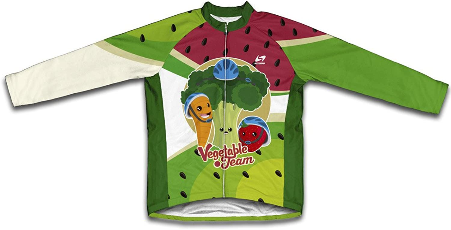 Vegetable Team Thermal Cycling Jersey for Women