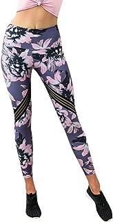 Qootent Women Yoga Athletic Pants Print Trousers Sport Gym Sweatpants Leggings