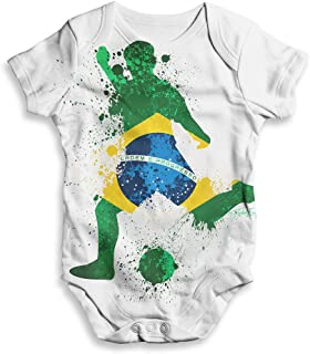 0-18 Months Coco Rascal/® Baby Boy Girl Cuddle Grandma Leeds United LUFC Footie Football White Bodysuit Grow Vest