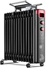 XHHWZB Radiador de calefacción de los hogares de aceite Ting Calefacción, ahorro de energía de calefacción eléctrica, Calentamiento Rápido de escritorio Asar estufa, 2000W de alta potencia de la tempe