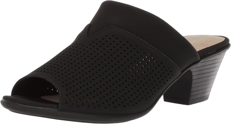 Easy Street Woherren Posh Heeled Sandal, schwarz, 8 N US