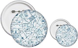 Kit de création de boutons et badges pour mécaniciens électromagnétiques Bleu