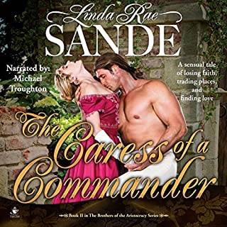 The Caress of a Commander audiobook cover art