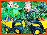 Toy Dump Trucks For Kids Harvest Organic Potatoes