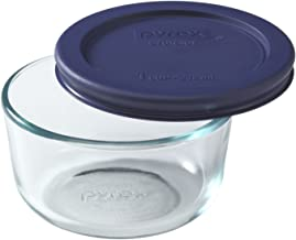 Pyrex Simply Store 1-Cup Round Glass Food Storage Dish
