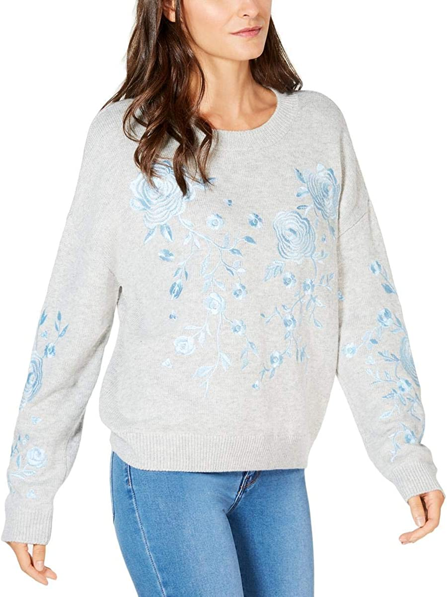 New Free Shipping I-N-C Free shipping anywhere in the nation Womens Embroidered Sweater Pullover