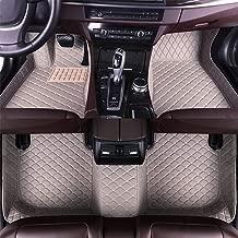 Maite Custom Car Floor Mat Fit for Audi S3 Saloon 2015-2019 Full Surrouded XPE Leather Waterproof Carpets Mats Gray
