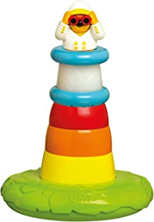 Tomy Stack N Play Lighthouse Bath Toys - E72194, Multi Color, 22 X 22 X 28cm