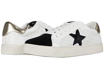 Steve Madden Philip Sneaker (White/Black) Women