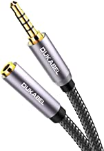 DuKabel Headphone Extension Cable, 3.5mm Male to Female Stereo Audio Cable Lossless Audio Sound Premium Audio Cord Extension Cable Gold Plated Jack & Strong Nylon Braided - Top Series (4ft/1.2m)