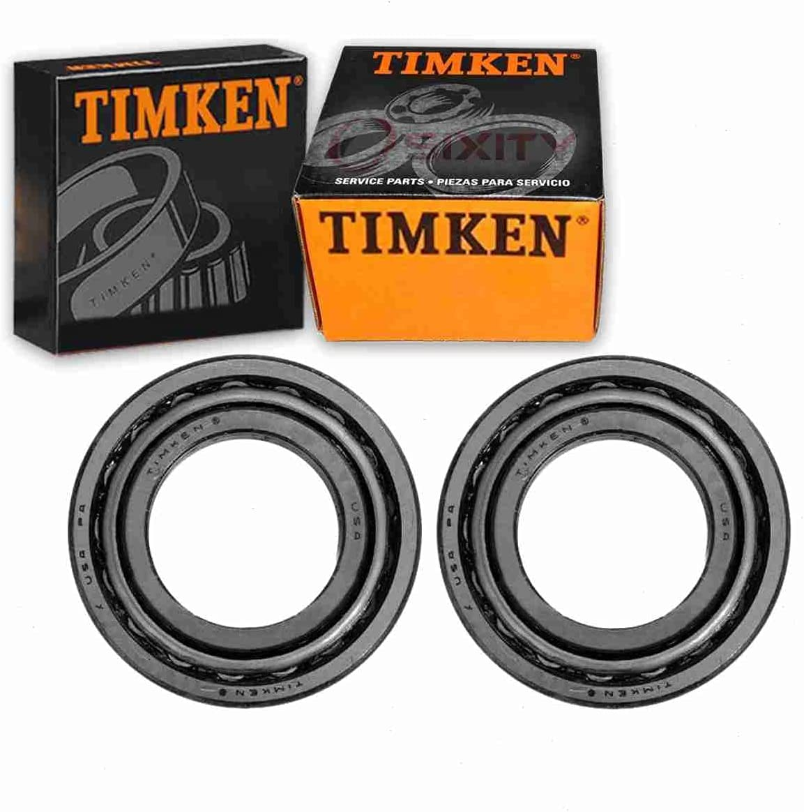 El Paso Mall 2 pc Timken Front Outer 2021 model Wheel compatible Race Sets and Bearing w