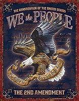 2個 私たち人々-憲法修正第2条8x12in