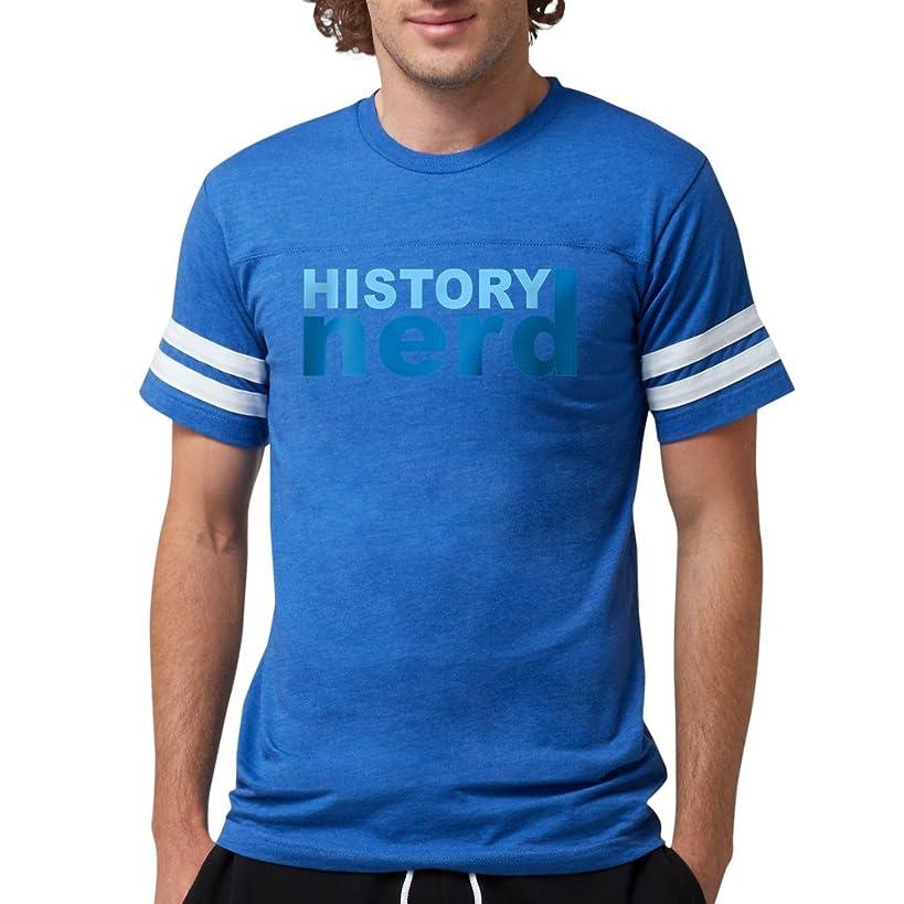 CafePress - History Nerd T-Shirt - Mens Football Shirt