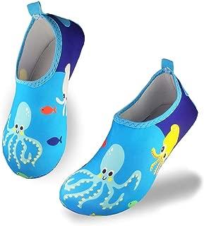 FELOVE Calzado para Mar y Deportes Acu/áticos para ni/ños ni/ñas Secado R/ápido Nataci/ón Zapatos Zapatillas de Agua de Playa Escarpines de Verano Piscina Zapatos de Agua