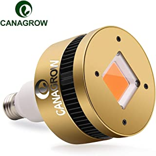 CANAGROW 150W LED Grow Light Bulb Full Spectrum, E26 COB LED Plant Grow Lights for Indoor Plants, Growing Lamps for Hydroponics Seedlings Vegetables Flowers