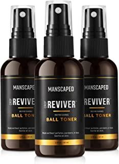 MANSCAPED™ The Crop Reviver™, Hydrating & Refreshing Men's Body Toner Spray, Cooling Groin Spritz with Soothing Aloe Vera...