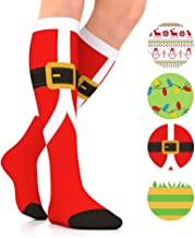 holiday compression socks
